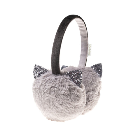 ROCKAHULA - Glitter Cat Earmuffs Grey