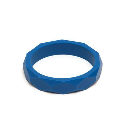 LARA AND OLLLIE - Bracelet Silicone Bangle Denim