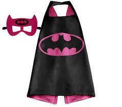 Superhero Cape and Mask -Batgirl