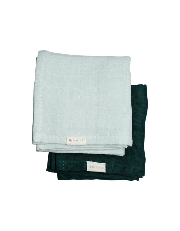 FABELAB - MUSLIN CLOTH - 2 PACK - SPROUT