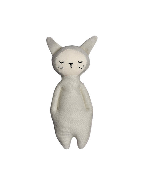 FABELAB - SOFT RATTLE - BUNNY - LIGHT GREY