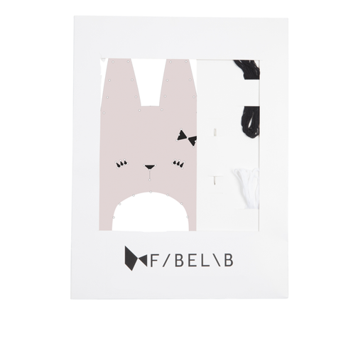 FABELAB - ANIMAL EMBROIDERY KIT - RABBIT