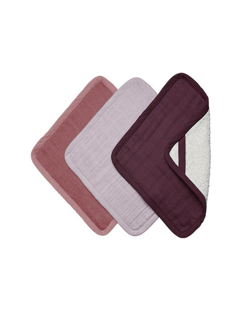 FABELAB - WASH CLOTH - 3 PACK - SUNSET