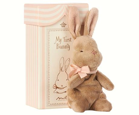 MAILEG - My First Bunny In Box Rose