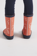 GRASS & AIR - Infant Wellies Coral