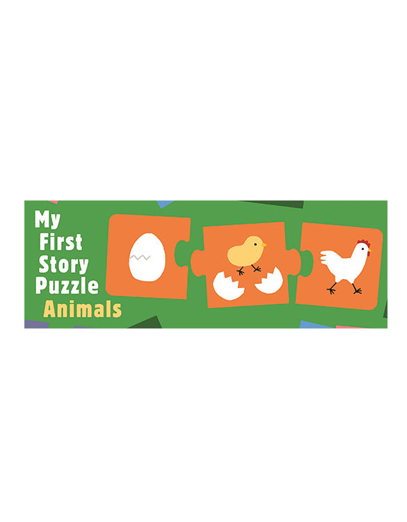 My First Story Puzzle: Animals