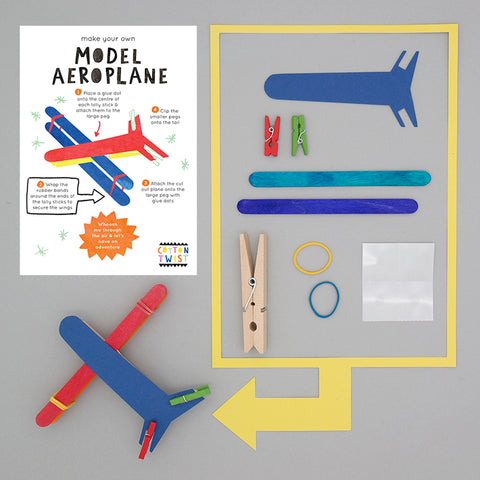 COTTON TWIST- Make Your Own Model Aeroplane