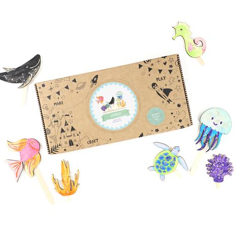 COTTON TWIST- Save The Oceans Craft Kit