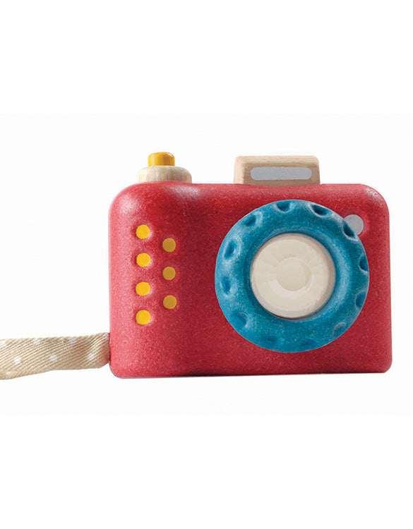 PLAN TOYS - My First Camera Wooden Toy