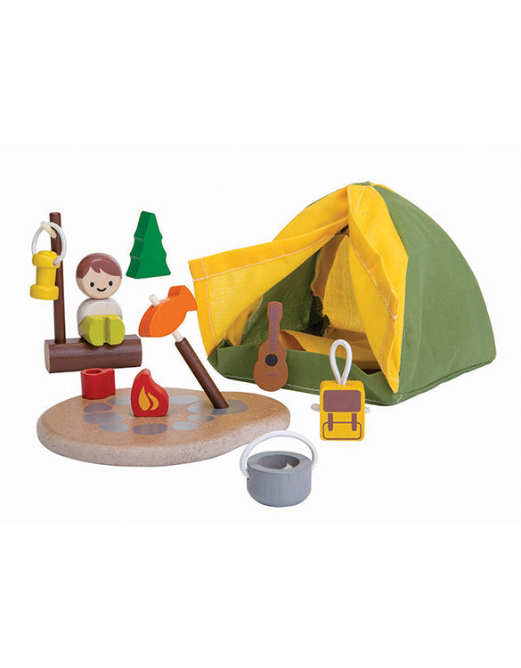 PLAN TOYS - Wooden Camping Set Toy