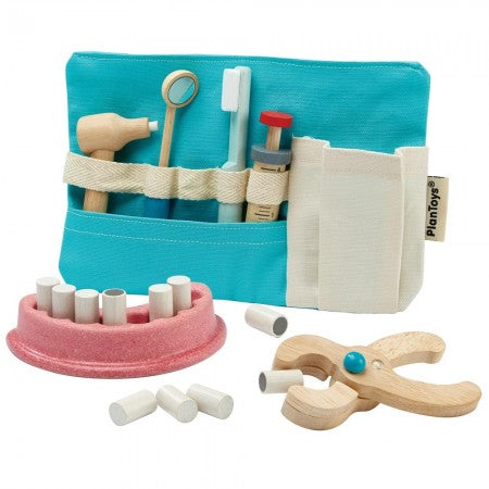 PLAN TOYS - Dentist Set Wooden Toy