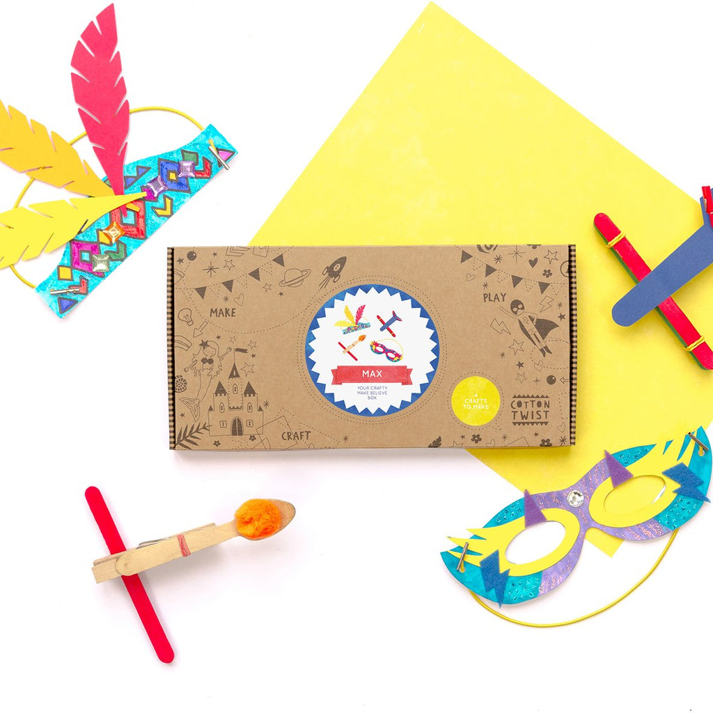 COTTON TWIST- Adventure Craft Activity Kit