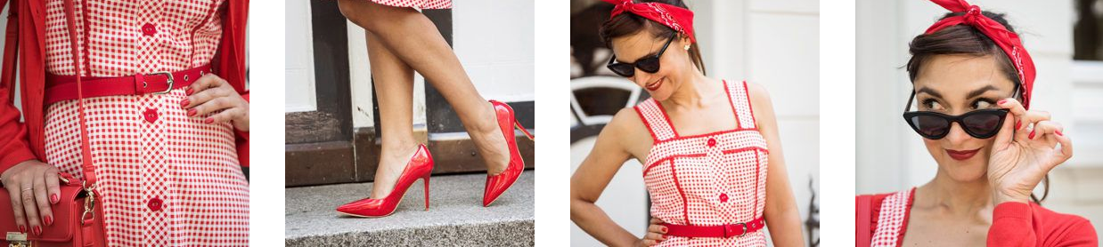 Le total look rockabilly rouge