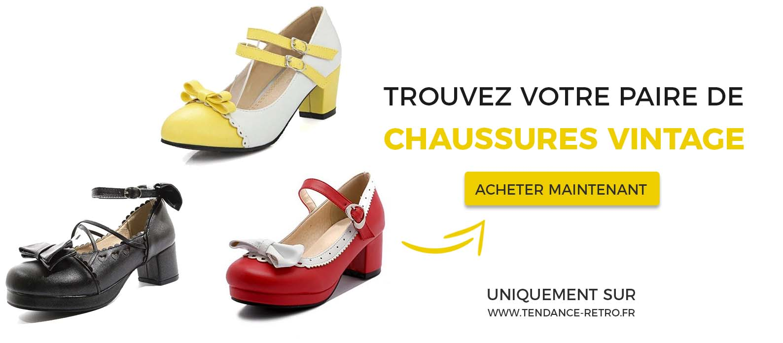 chaussures années 50