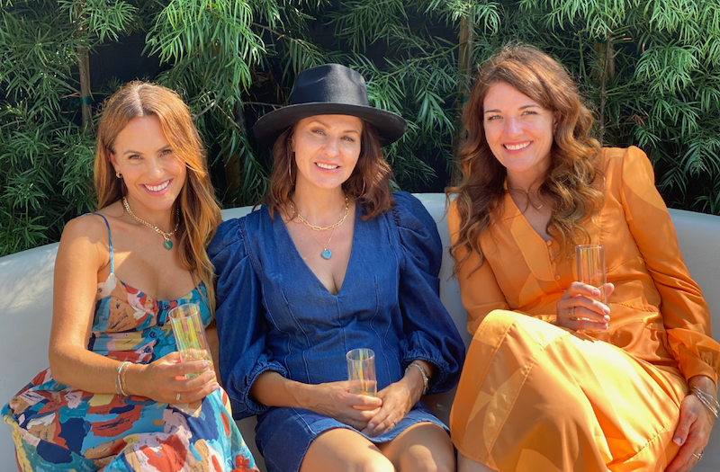 Owners Johnna Green and Jurate Brown with Collaborator Morgan Noelle
