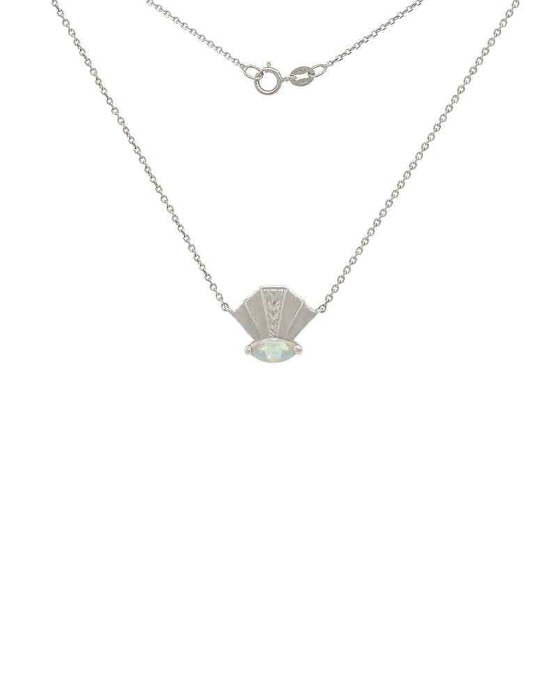 The Elizabeth Necklace - Opal