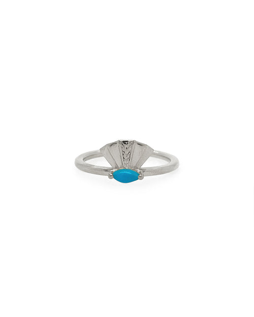 The Taylor Ring - Turquoise