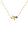 The Grace Necklace - London Blue Topaz