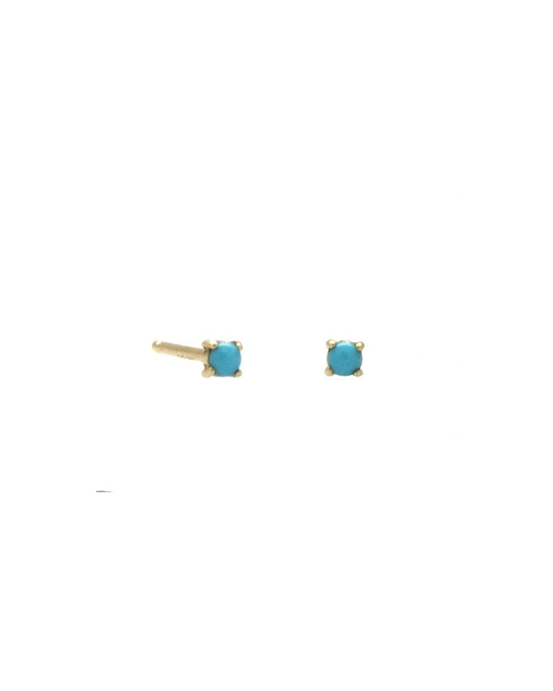 Lady Turquoise Stud Earrings