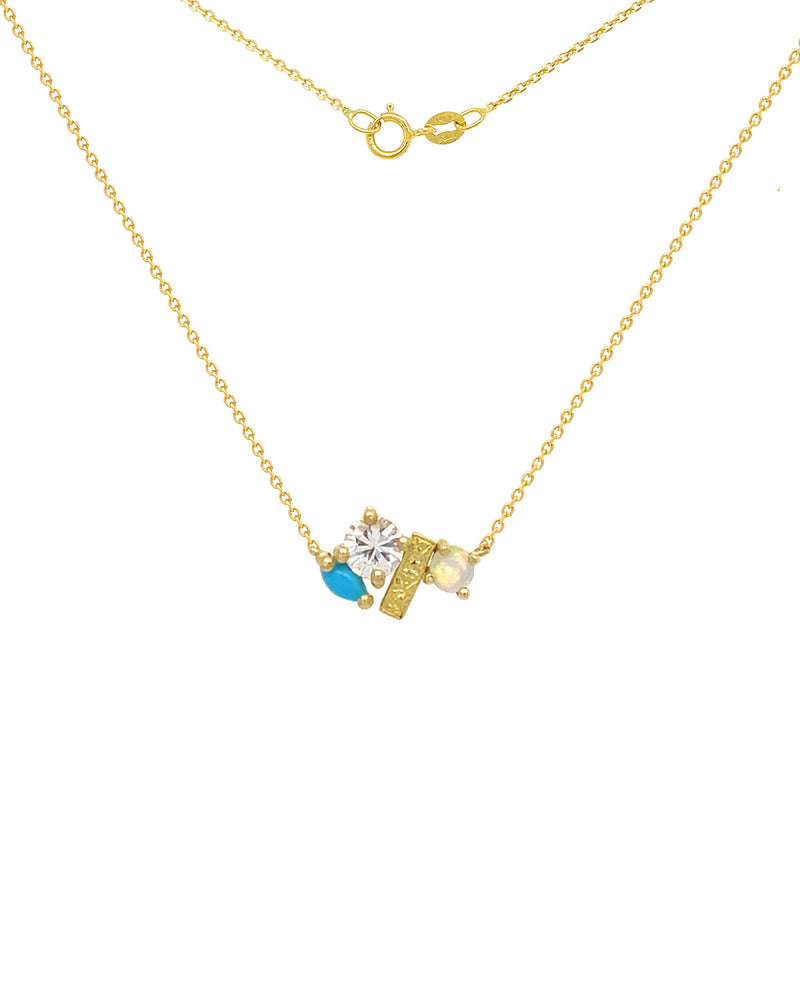 The Grace Necklace - Turquoise