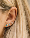 The Little Foxes Stud Earrings - Turquoise