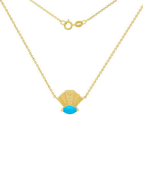 The Elizabeth Necklace - Turquoise