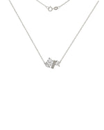 The Grace Necklace - White Sapphire