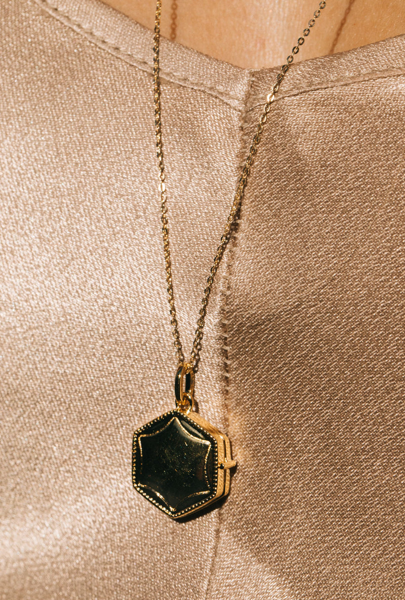 Louise Locket Necklace