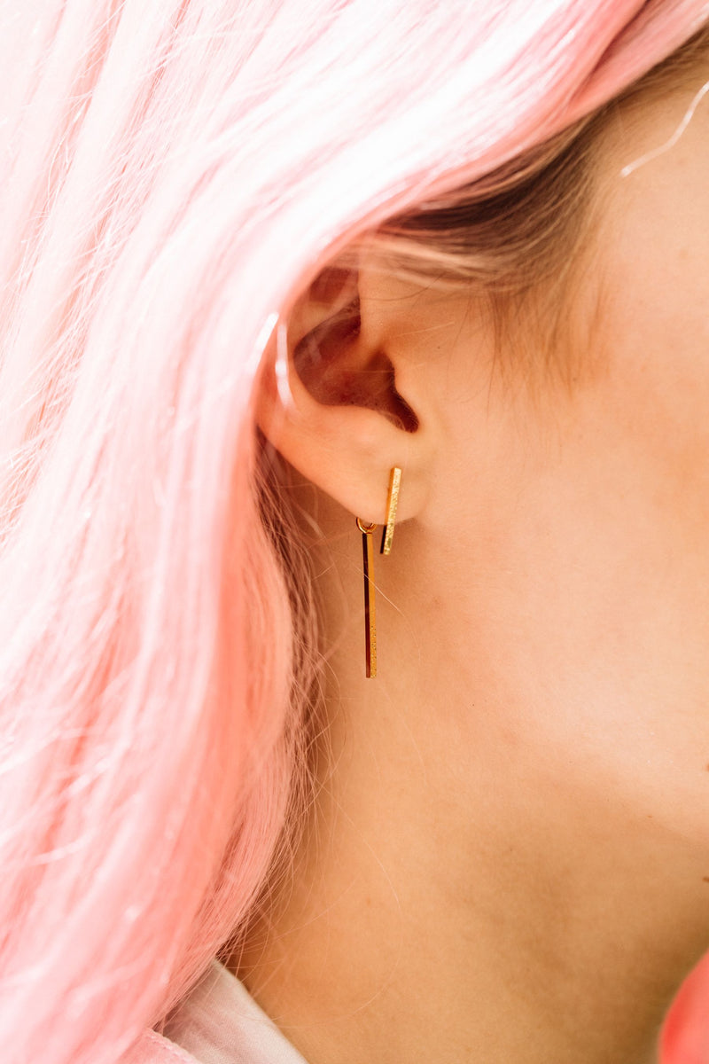 Kara Bar Earrings
