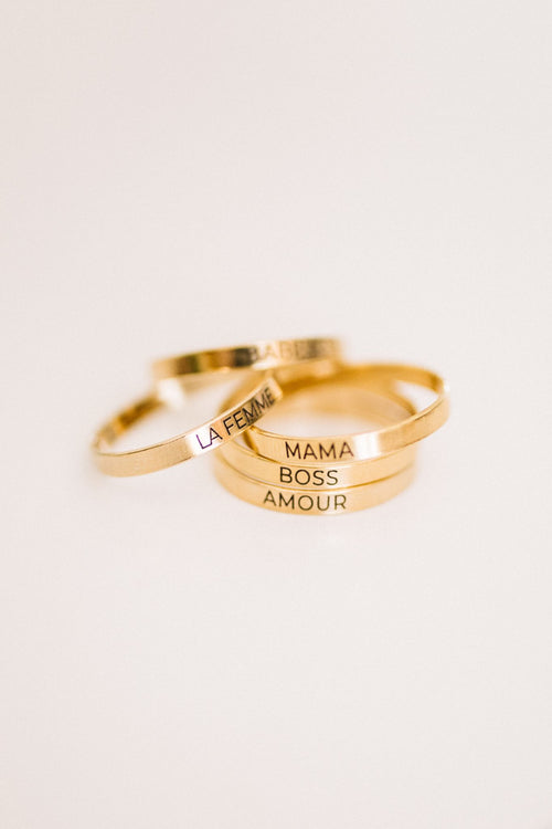 Lil Mama Engraved Ring