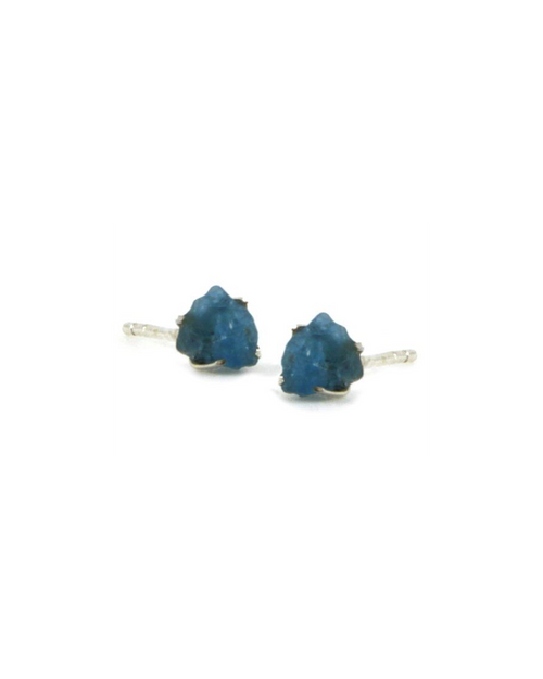 Apatite Raw Stone Earrings