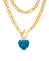 Oh Girl Necklace - Blue Agate