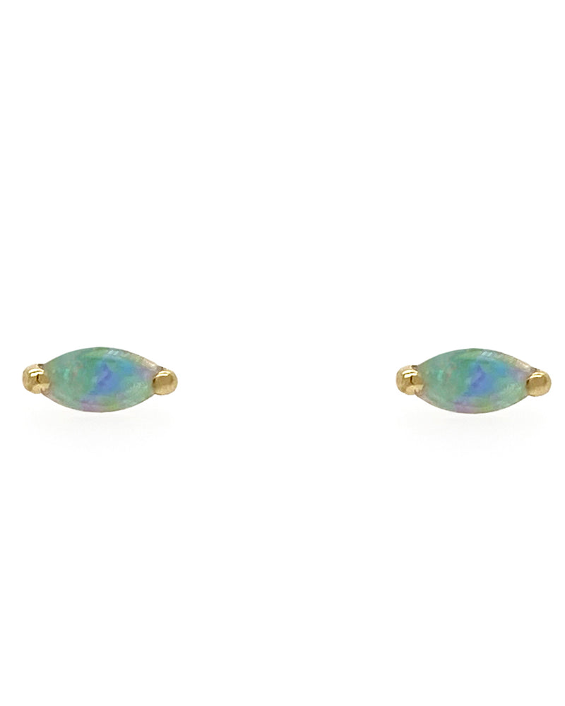 The Little Foxes Stud Earrings - Opal