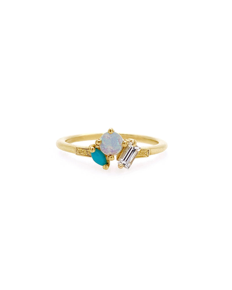 The Kelly Ring - Opal