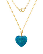 Free Bird Necklace - Blue Agate
