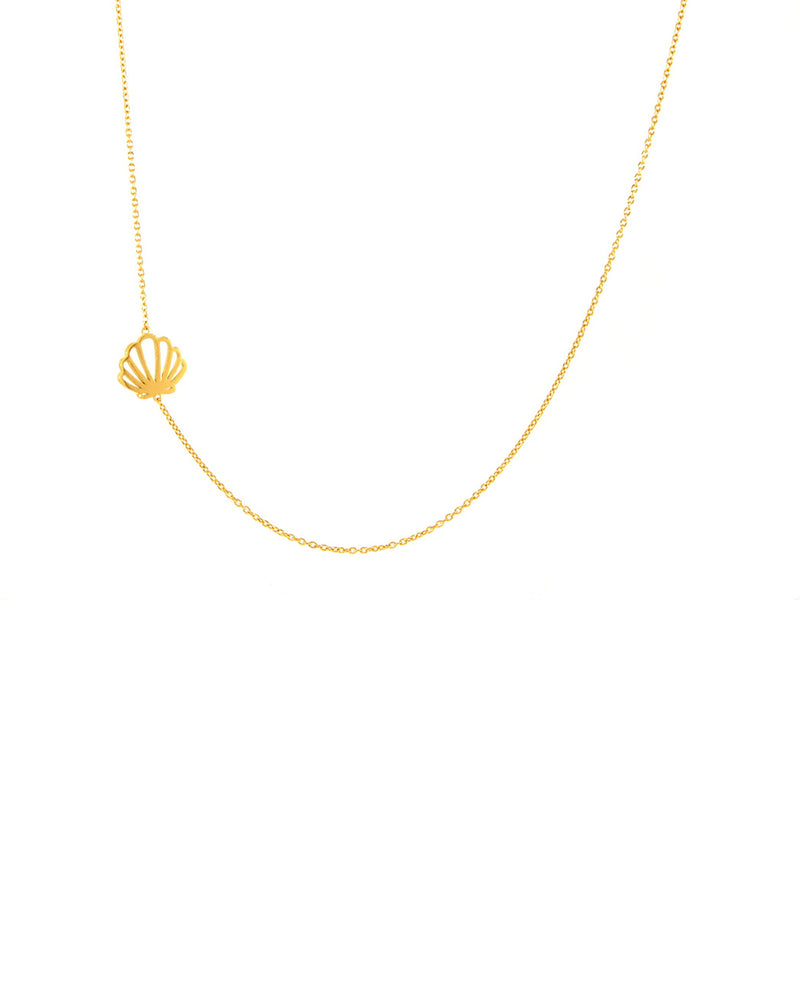Shelly Side Necklace