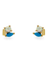 High Society Stud Earrings - Turquoise