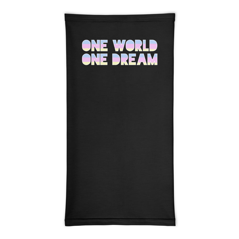 One World Face Mask Cover/Neck Gaiter