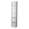Alaska Tall Unit White - Lenora - Bathroom Cabinets - ALASKATALL - 1