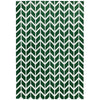 Asiatic Carpets Arlo Machine Knitted Rug Chevron Green - 100 X 150cm - Asiatic Carpets - Rugs - Arlo1001500012 - 1