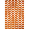 Asiatic Carpets Arlo Machine Knitted Rug Chevron Orange - 160 X 230cm - Asiatic Carpets - Rugs - Arlo1602300007 - 1