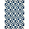 Asiatic Carpets Arlo Machine Knitted Rug Mosaic Denim - 100 X 150cm - Asiatic Carpets - Rugs - Arlo1001500002 - 1