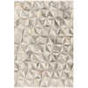 Asiatic Carpets Gaucho Hand Sewn Rug Facet Grey - 160 X 230cm - Asiatic Carpets - Rugs - GAUC160230FACE - 1