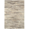 Asiatic Carpets Gaucho Hand Sewn Rug Light Grey Stripe - 160 X 230cm - Asiatic Carpets - Rugs - GAUC160230LGRE - 1