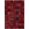 Asiatic Carpets Xylo Hand Sewn Rug Red Cross Stitch - 160 X 230cm - Asiatic Carpets - Rugs - XYLO160230REDD - 1