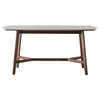 Gallery Direct Barcelona Marble Rectangular Dining Table - Gallery - Dining Tables - 5056272006528 - 1