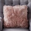 Blush Pink Sheepskin Cushion by Native Home & Lifestyle - Native Home & Lifestyle - Cushions - CUS-SHEEP-PINK - 1