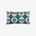 Bowline Rectangle Cushion - Blue - Brabbu - S19-Br-Cshn-BowlineRec-Blu - 1