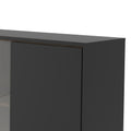 Cabinet 1 Door + 1 Glass Door + 1 Drawer - FTG - Cabinets - 72186008gmdj - 2