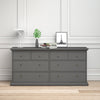 Chest of 8 Drawers in Matt Grey - FTG - Chest of Drawers - 70176719igig - 1
